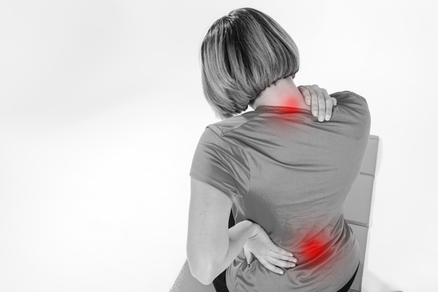 Neck pain can be treated by a chiropractor